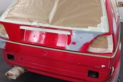 restauración Volkswagen Golf